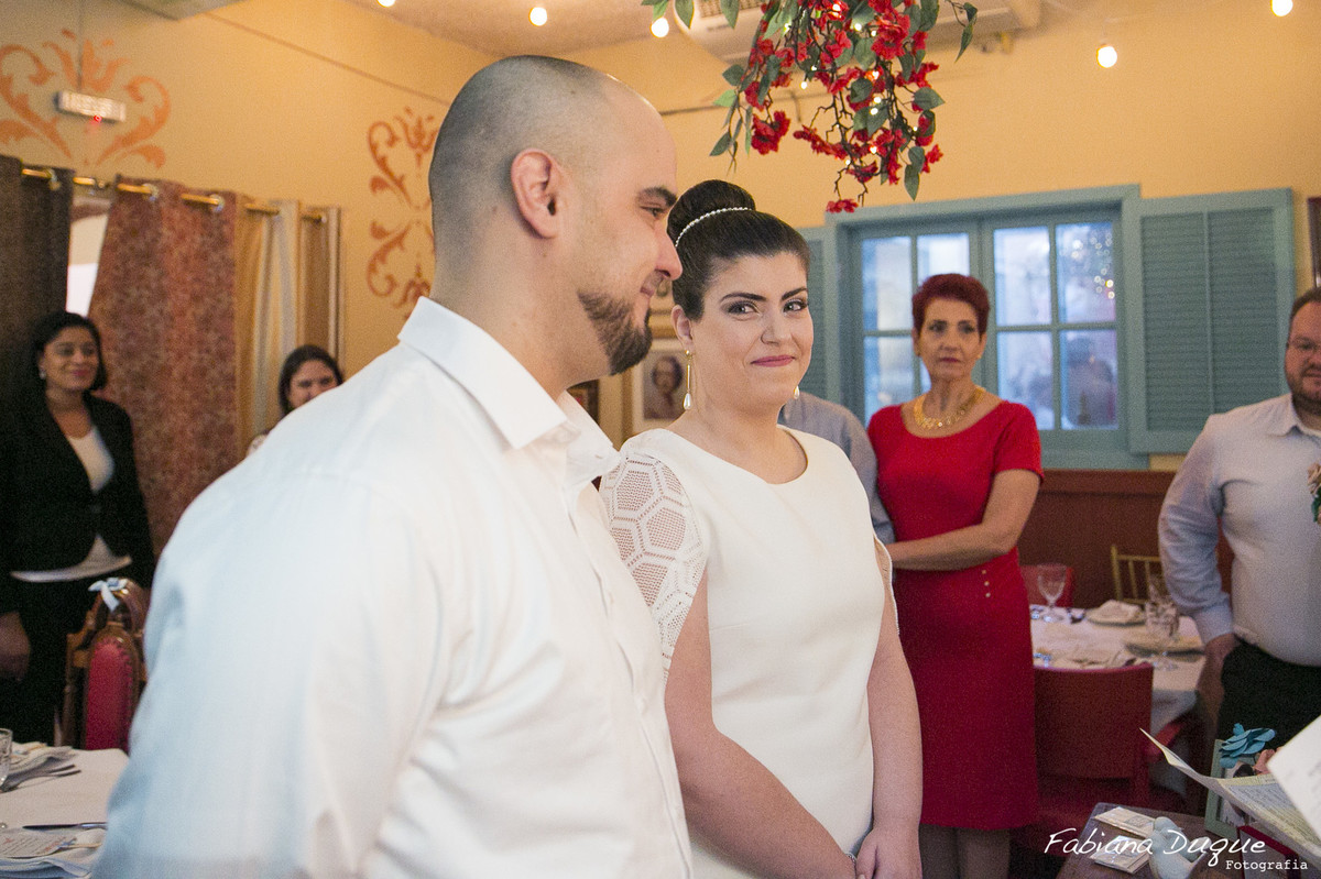 Fotos de casamento intimista