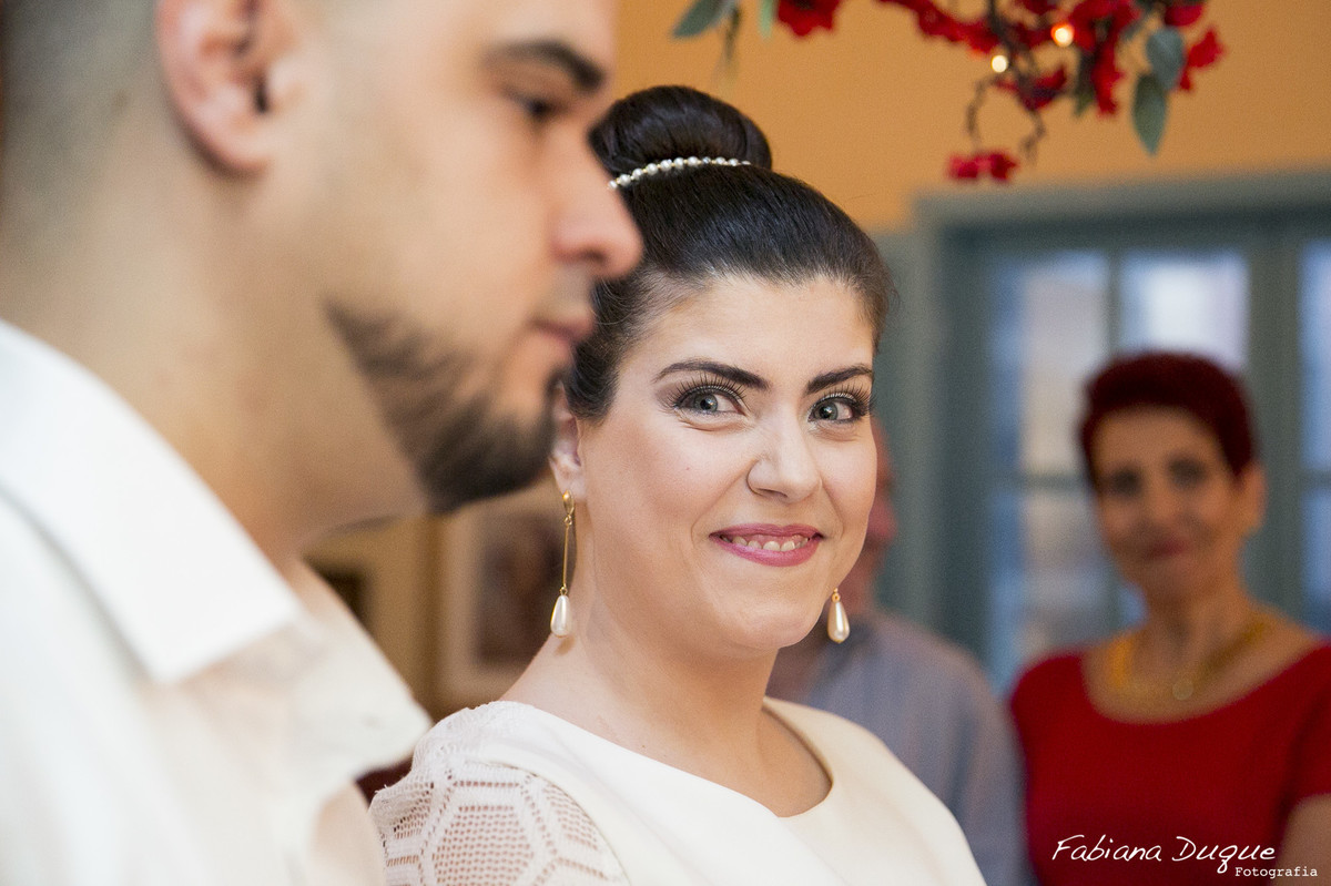 Fotos espontâneas de casamento