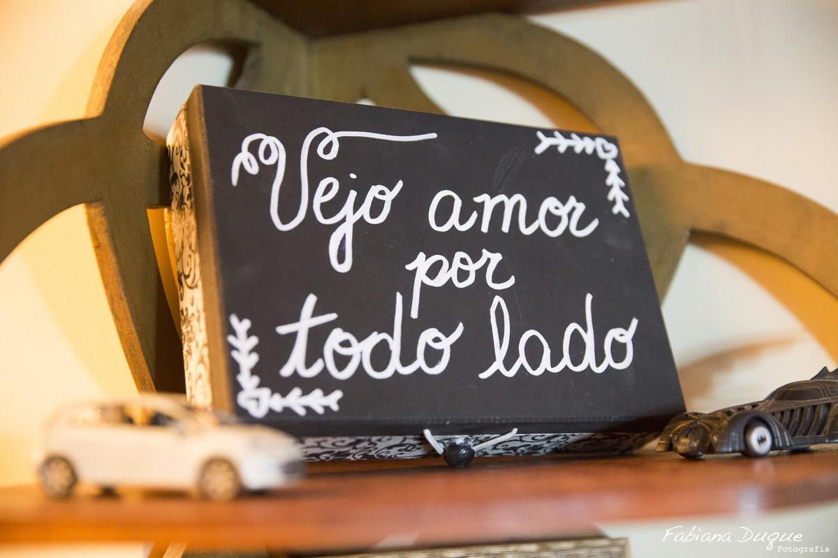 Decoração de casamento pequeno