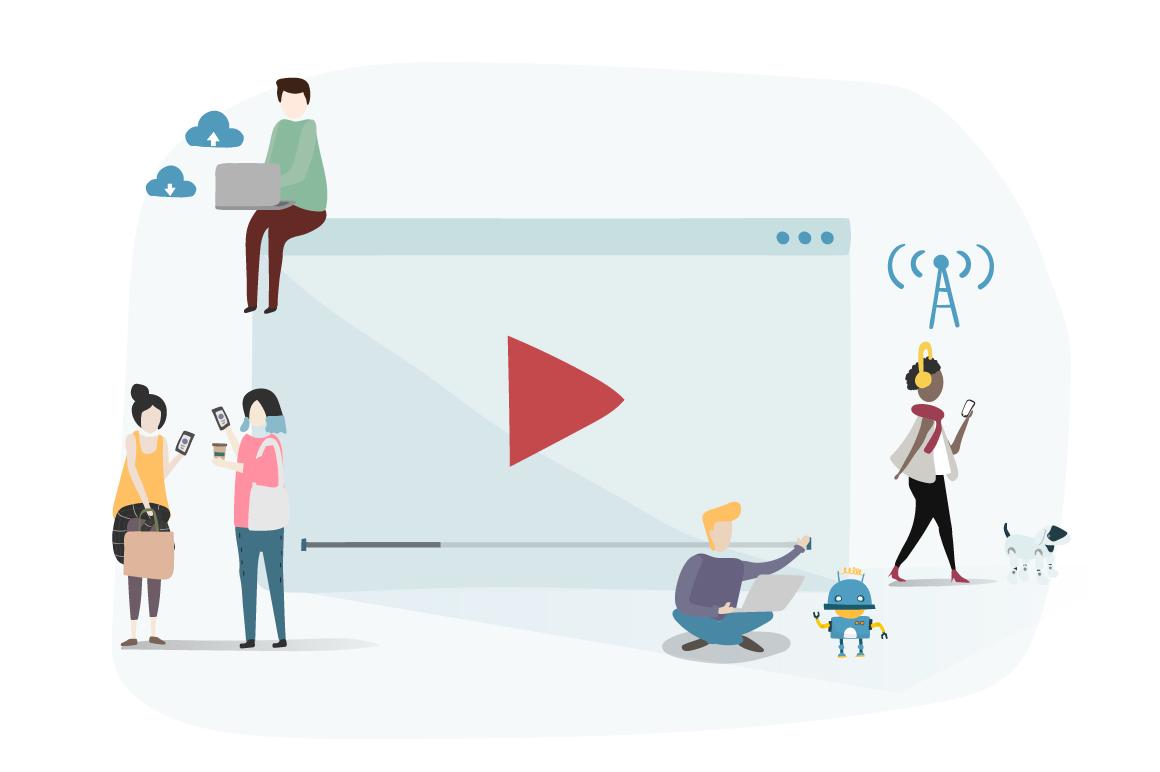 Imagem capa - Marketing de Conteúdo em Vídeo: entenda esta febre por Espelho Audiovisual