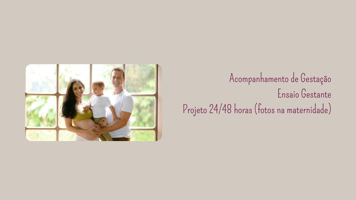 Imagem capa - Acompanhamento de Gestantes, Ensaio Gestante e Projeto 24/48 horas (fotos na maternidade) por ELISABETE SOZZA