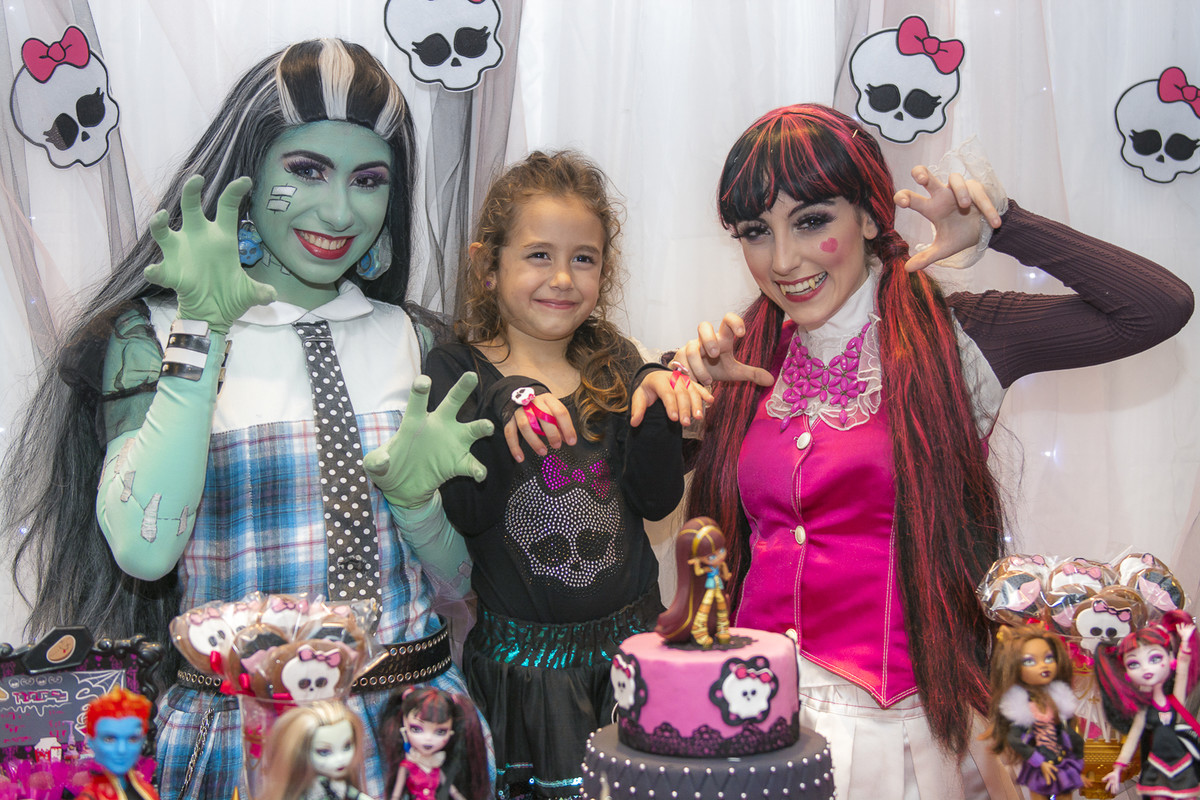 Personagem vivo da monster high_marcel_ramos_fotografia_festa_infantil