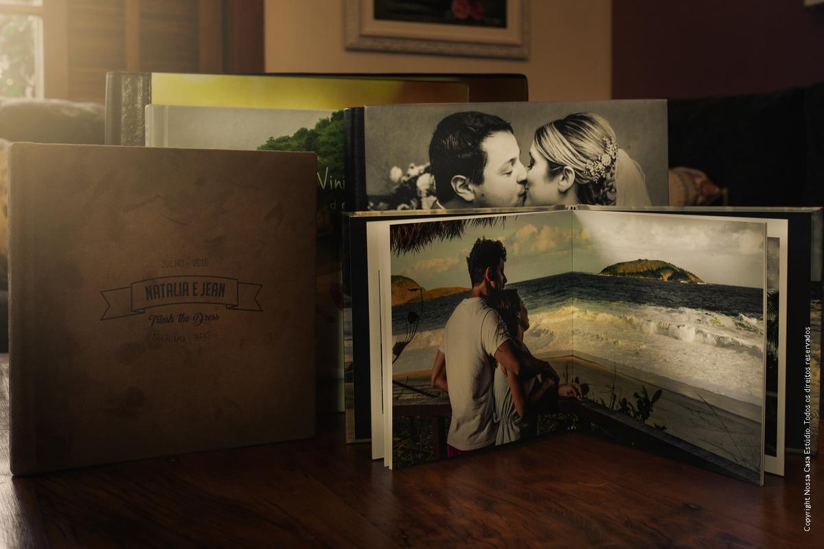 Imagem capa - Álbuns de casamento - Um tesouro à parte!  por Nossa Casa Estúdio Fotografia de Casamento Rio de Janeiro