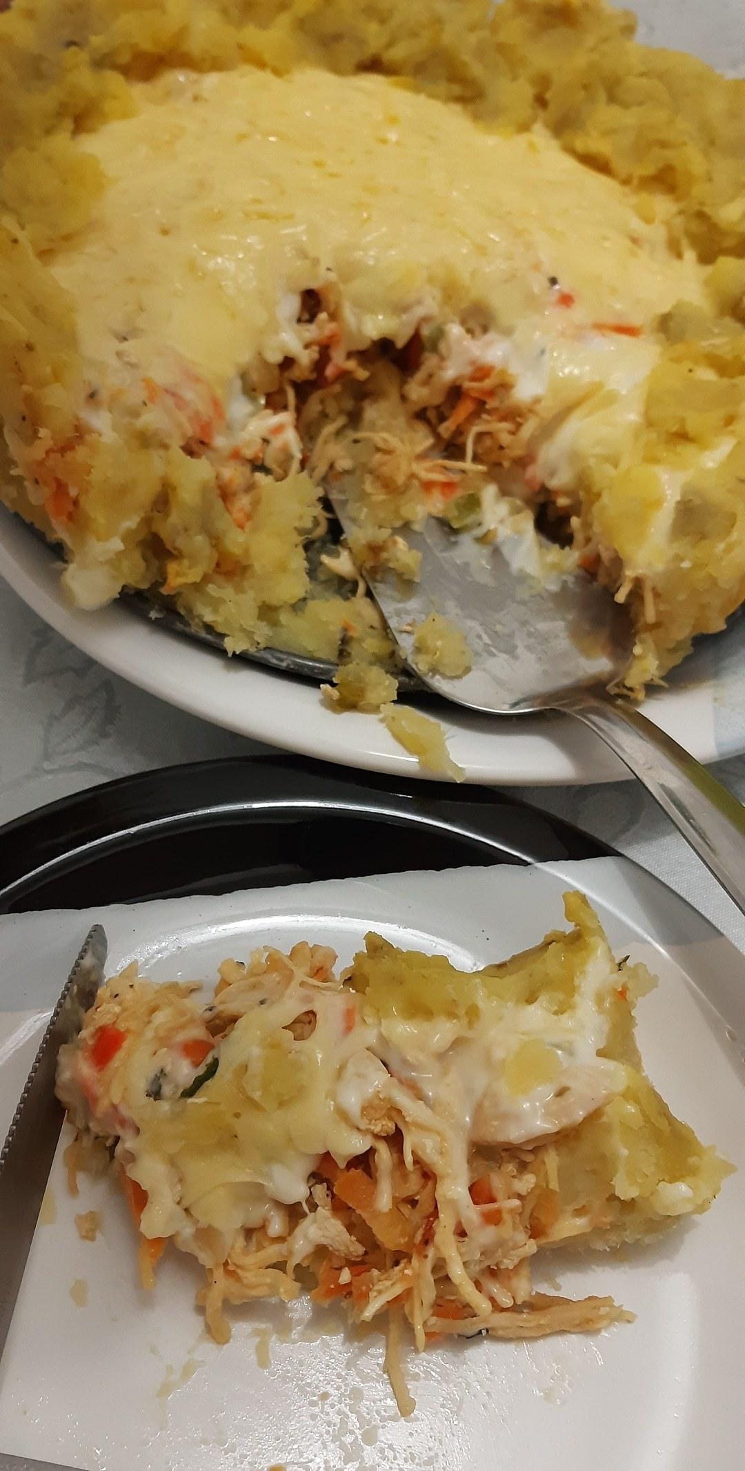Imagem capa - Torta de frango com batata doce  por Nutricionista Arlete Cristina Carvalho