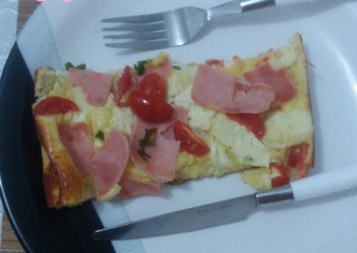 Imagem capa - Receita da Pizza Fit por Nutricionista Arlete Cristina Carvalho