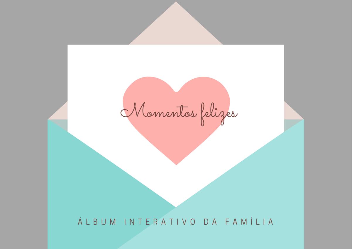 Imagem capa - Lançamento do Álbum Interativo de Família por Erika Bratfisch Dominiquini