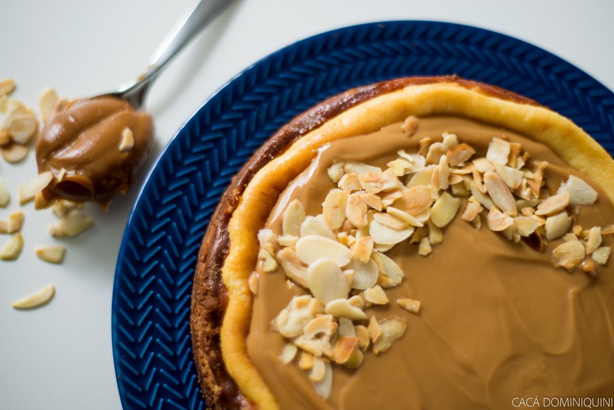 Imagem capa - Editorial - Cheesecake de doce de leite por Erika Bratfisch Dominiquini