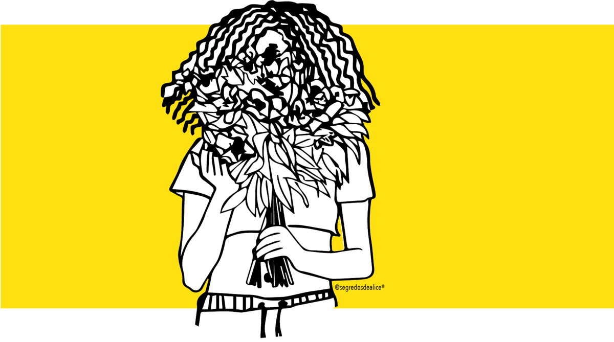 Imagem capa - UM DOS SEGREDOS DE ALICE É A INCLUSÃO  por Bia Fioretti