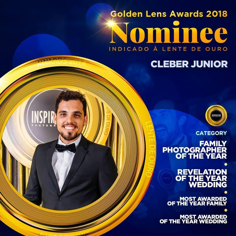 Imagem capa - Fomos indicados ao Golden Lens Awardes 2018 - Lente de Ouro - em oito categorias  por Cleber Roberto de Almeida Junior