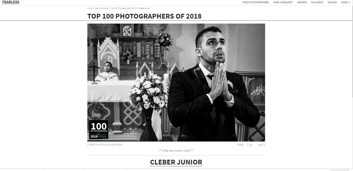 Imagem capa - Estamos no Top 100 da Fearless 2018  por Cleber Roberto de Almeida Junior