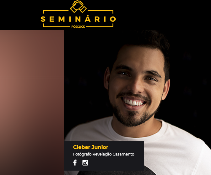 Imagem capa - Vamos palestrar no Seminário PosClick por Cleber Roberto de Almeida Junior