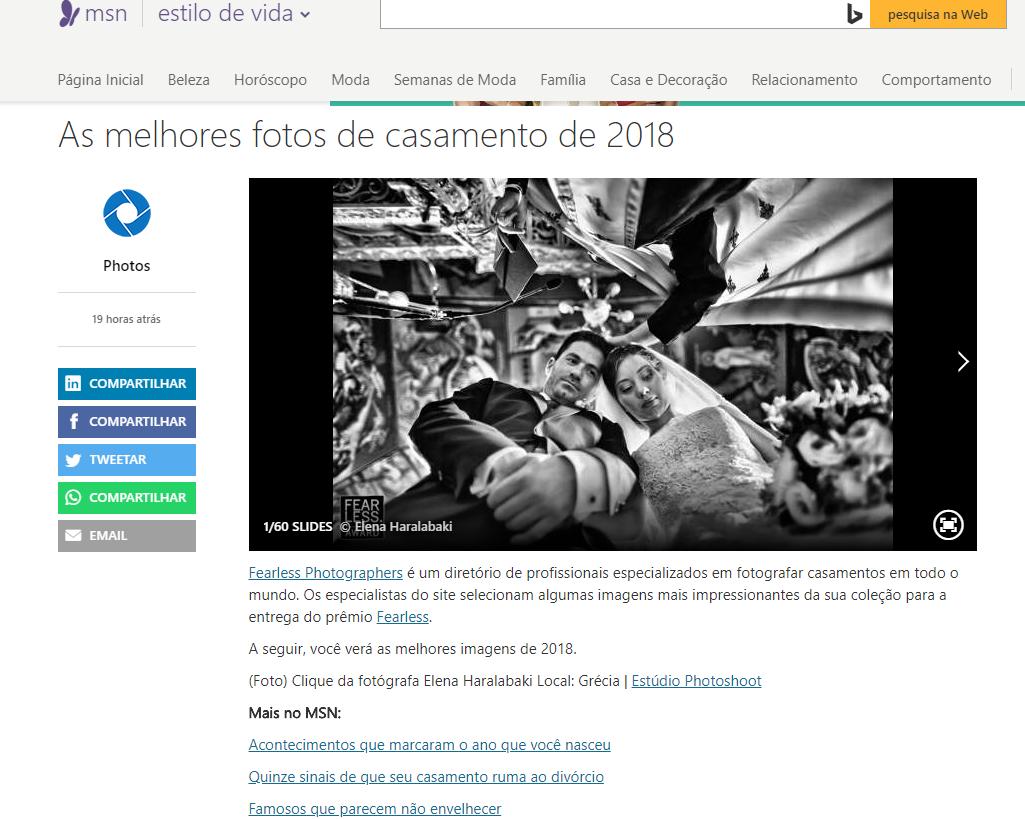 Imagem capa - Melhores fotografias de casamento de 2018: estamos na lista por Cleber Roberto de Almeida Junior