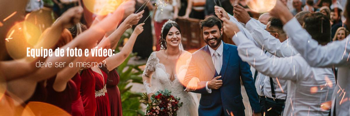 Imagem capa - A equipe de foto e vídeo para casamento deve ser a mesma? Entenda! por Ricardo Clavello