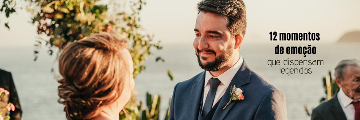 Imagem capa - Os 12 momentos de emoção nos casamentos que dispensam legendas por Ricardo Clavello