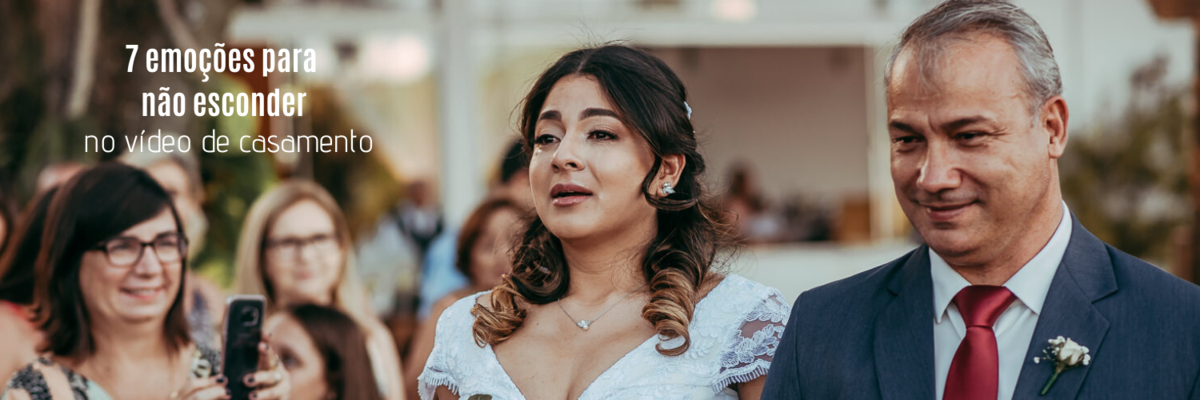 Imagem capa - 7 emoções que os noivos não devem esconder no vídeo de casamento por Ricardo Clavello