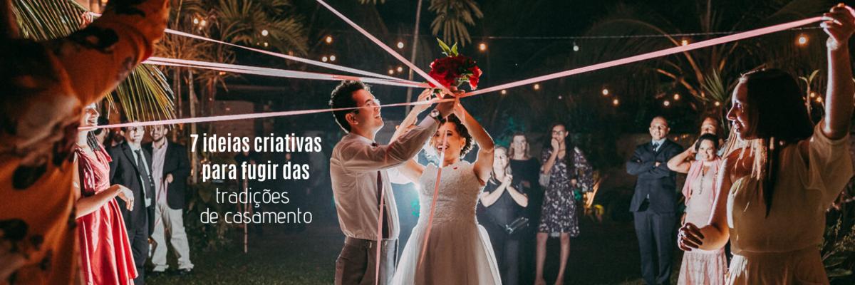 Imagem capa - Saiba como fugir das tradições de casamento com 7 ideias criativas por Ricardo Clavello