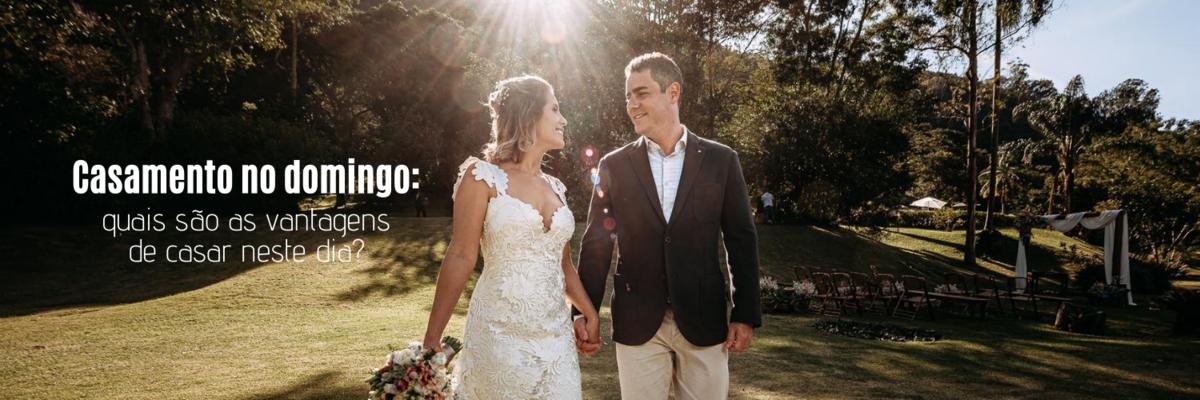 Imagem capa - Casamento no domingo: quais são as vantagens de casar neste dia? por Ricardo Clavello
