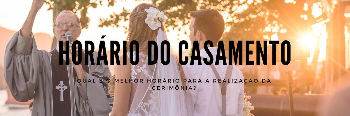 Imagem capa - Como escolher com exatidão o melhor horário para casar? por Ricardo Clavello