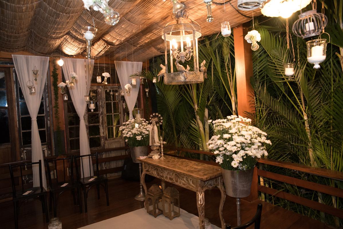 O altar - Fotografia de casamento da Verônica e Roberto - Fotografias de casamento em Alphaville SP - No Armazém 465