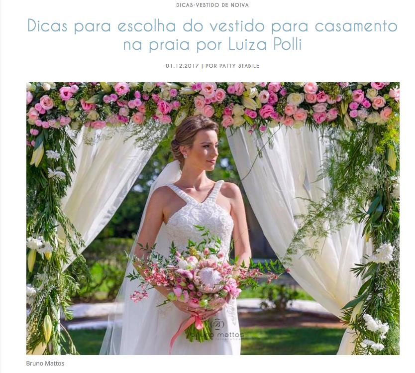 Imagem capa - Matéria no Blog Casamento em Buzios  por Bruno Mattos Fotografia