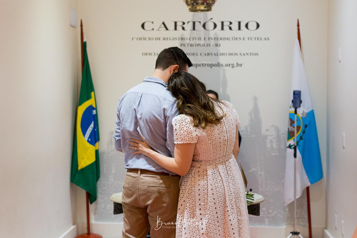 Imagem capa - Petrópolis - Natália e Diogo - Casamento civil por Bruno Mattos Fotografia