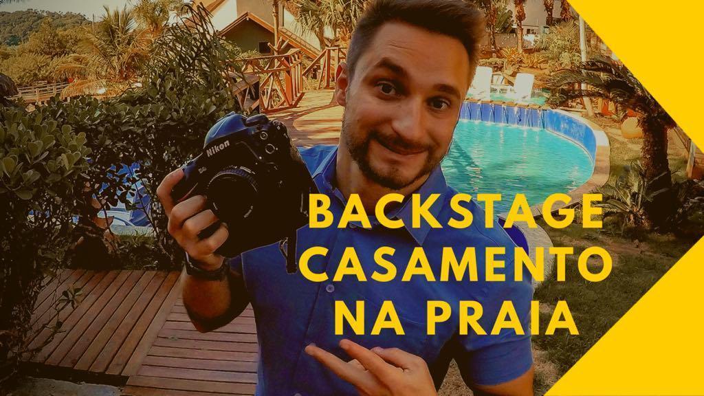 Imagem capa - Casamento na Praia - Backstage Video por Willian Pereira