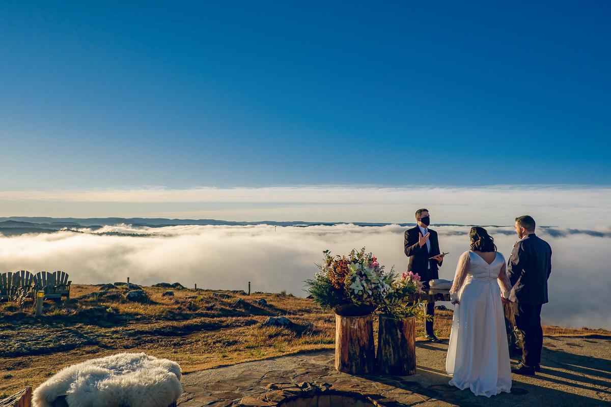 Imagem capa - Um Elopement nas nuvens... por Lauro Maeda