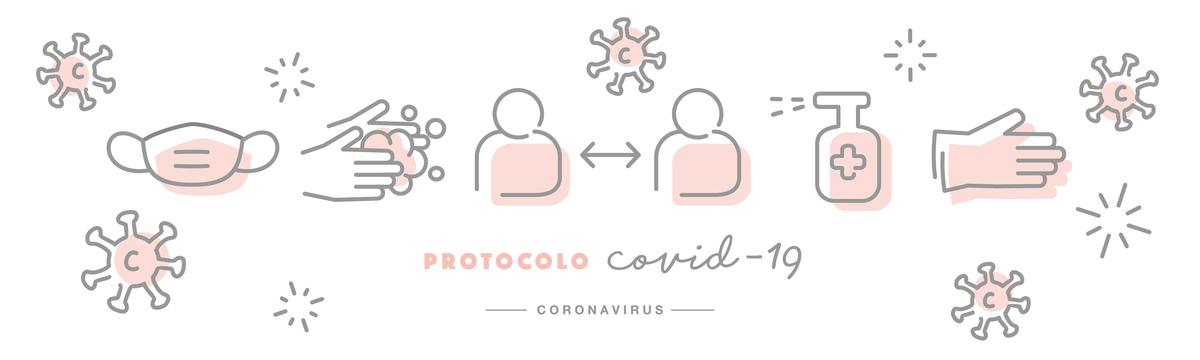 Imagem capa - Protocolo de atendimento durante a pandemia da COVID-19 por Deborah Demétrio Fotografia