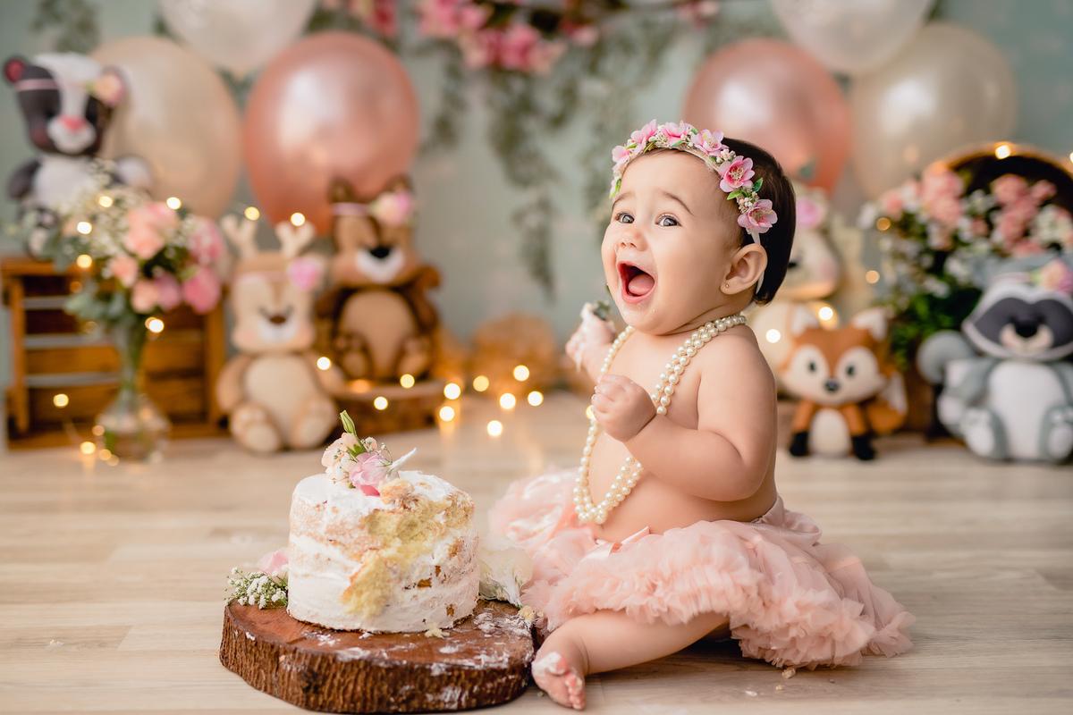 Imagem capa - Smash the Cake | Dicas e orientações para o grande dia!  por Deborah Demétrio Fotografia