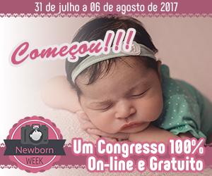 Imagem capa - Congresso Newborn Week por Estúdio Amanda Angelo Photo