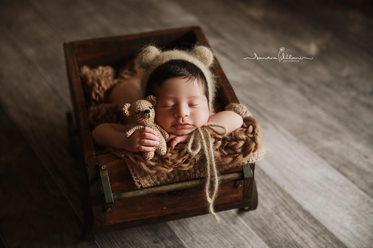 Imagem capa - Vídeo do Ensaio Newborn do Vitinho por Sandra Villani Fotografia