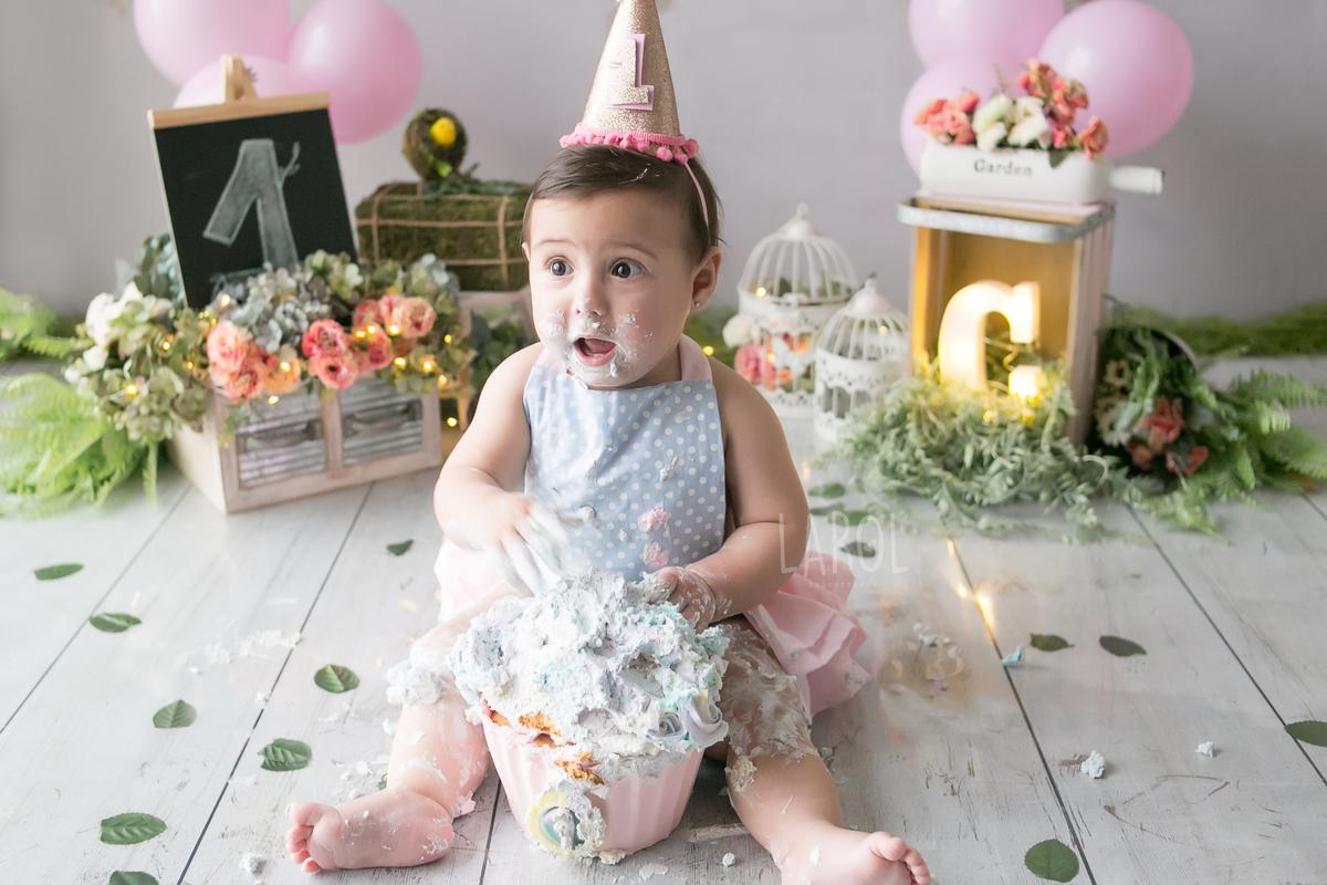 Imagem capa - Smash the Cake por Larol