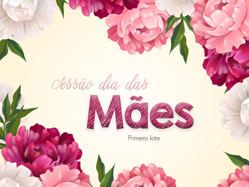 Imagem capa - Sessão de dia das mães por Giscellayne Rodrigues Perez