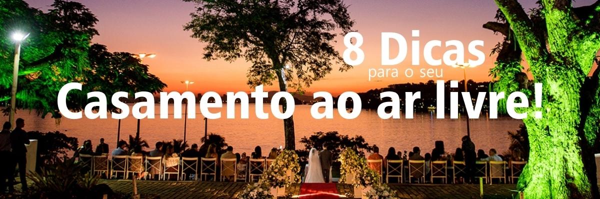 Imagem capa - 8 Dicas para o seu Casamento ao ar livre! por FELIPE MENDES