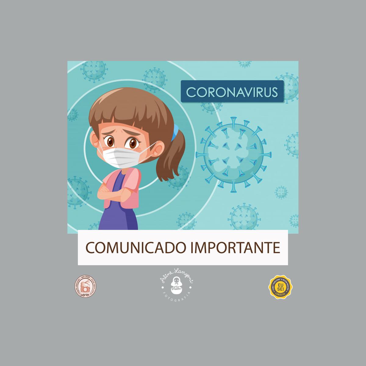 Imagem capa - Pandemia Coronavírus (COVID-19) por Aline Langoni