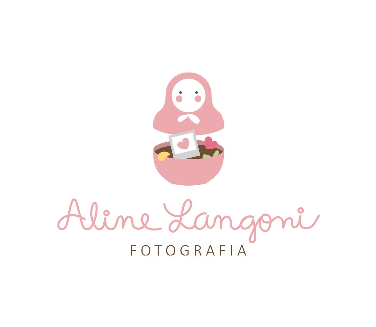 Imagem capa - Meu novo Logo: Matrioska, transbordando AMOR ! por Aline Langoni