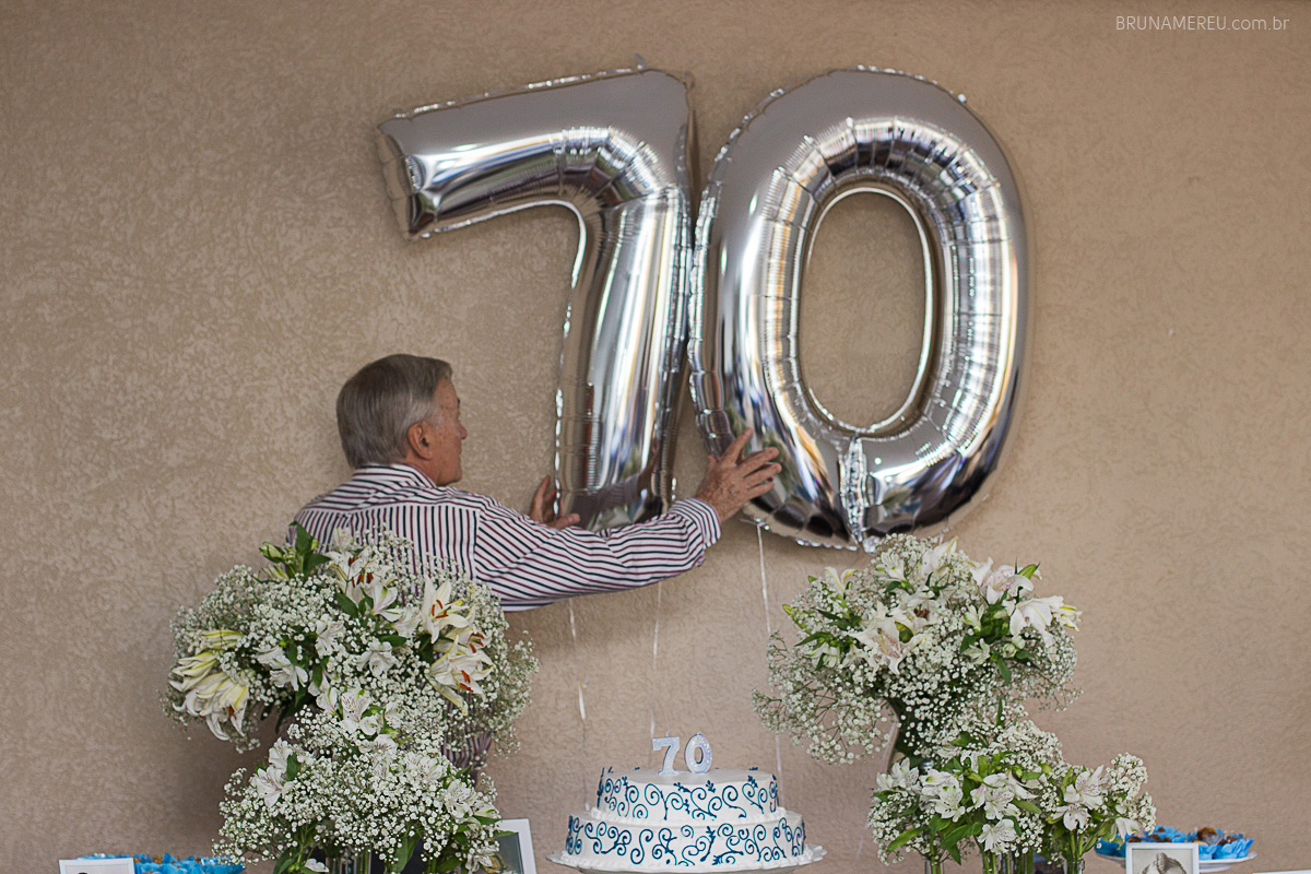 Adulto Zé Luiz 70 Anos Baurusp