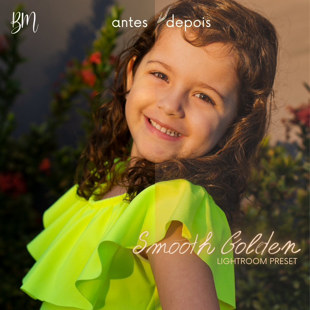 Imagem capa - Smooth Golden - Free Lightroom Preset por Bruna Mereu dos Santos