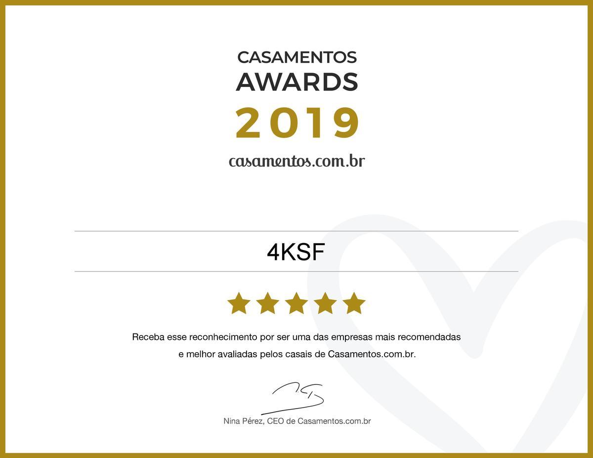Imagem capa - Casamentos Awards 2019 -  4KSF Fotografia de casamentos por Rafael Iven