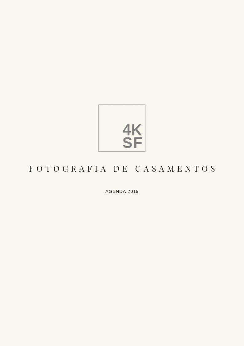 Imagem capa - 4KSF fotografia de casamentos | Valores 2019 por Rafael Iven