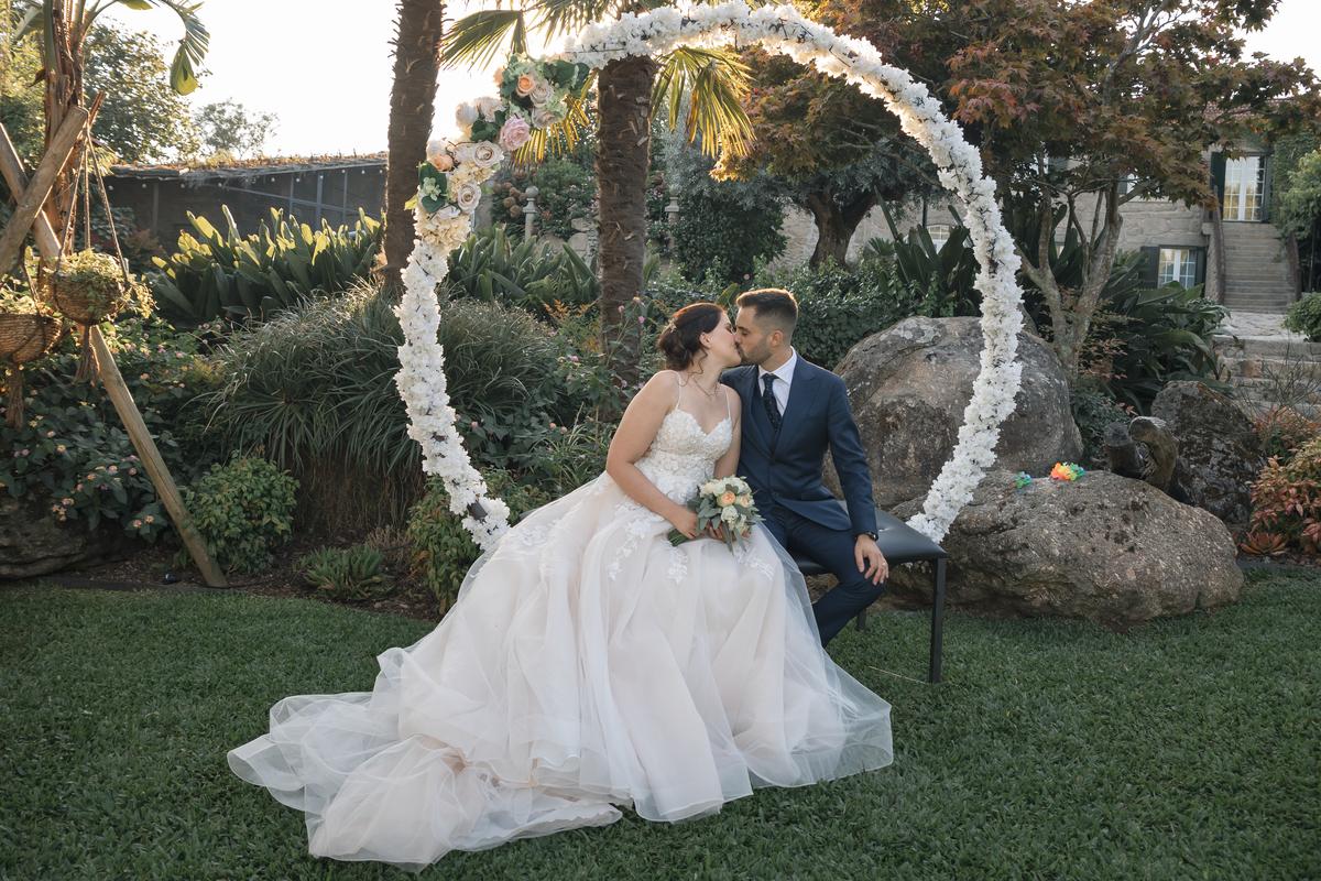 Imagem capa - As 06 vantagens de um casamento ao ar livre por Quinta da Devesa