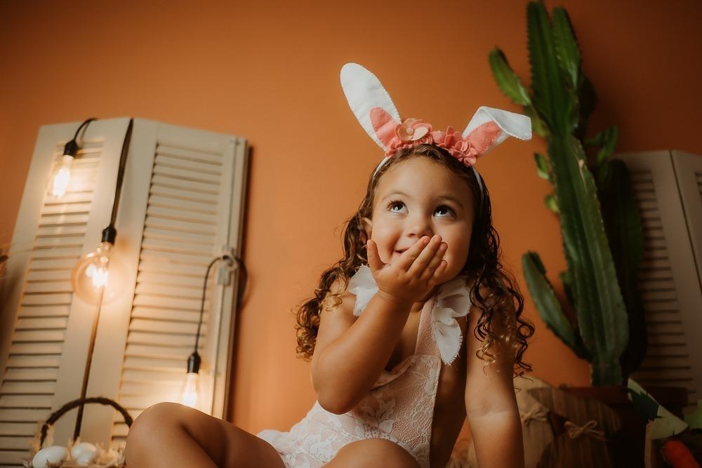 Imagem capa - O doce ensaio de Páscoa! por Ateliê Lena Fotografias