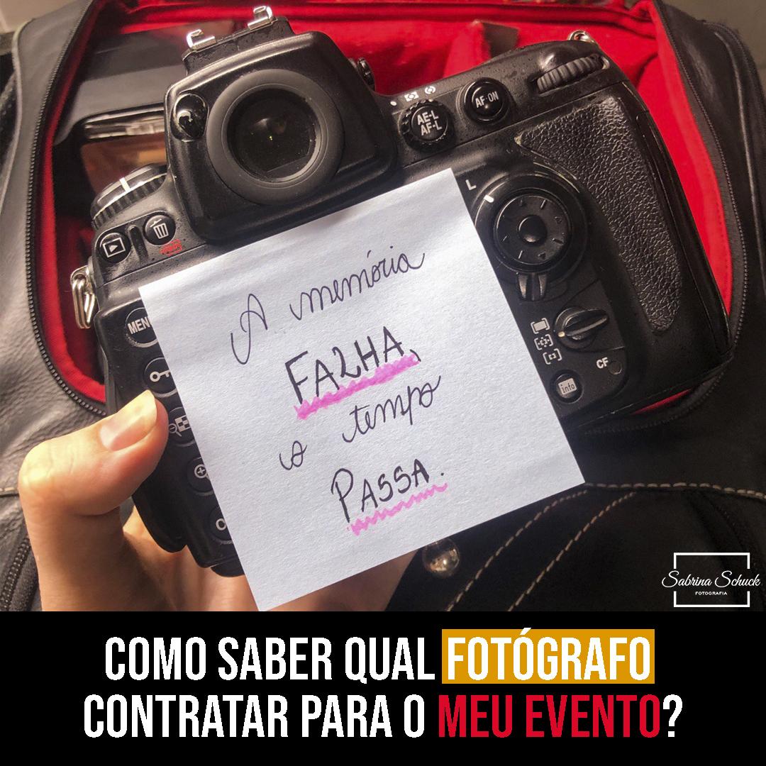 Imagem capa - Como saber qual fotógrafo contratar para o meu evento? por Sabrina Schuck Becker