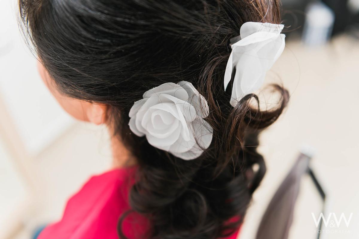 making of noiva são paulo penteado flores
