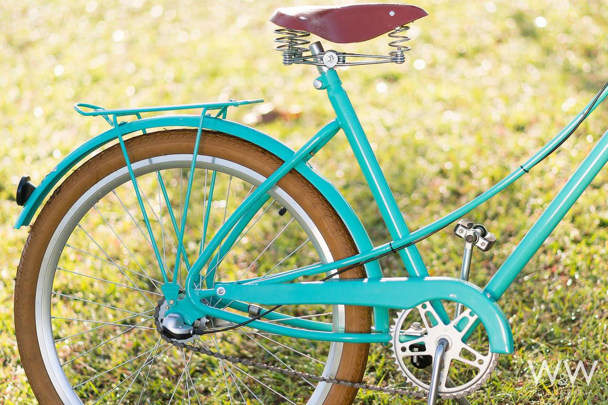 ensaio pré wedding são paulo parque ecológico do tietê bicicleta retro