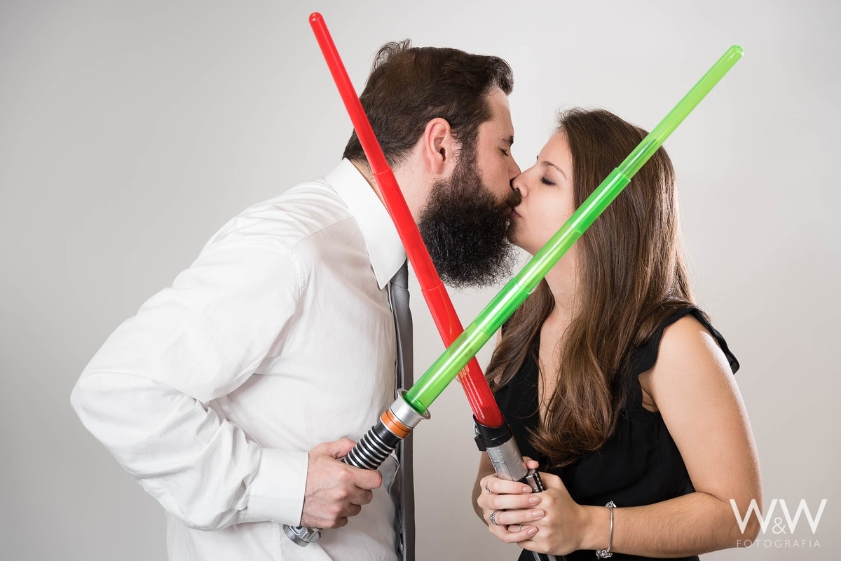 ensaio casal temático star wars wewfoto são paulo estúdio
