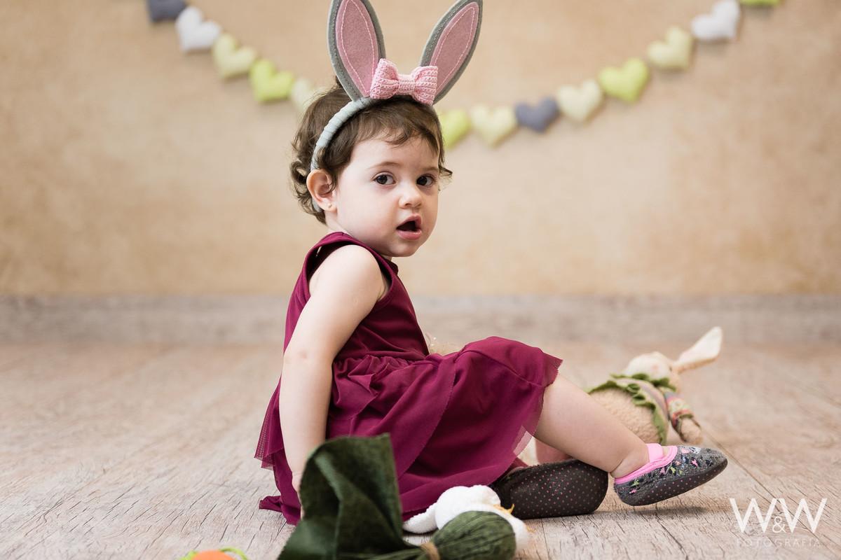 ensaio temático páscoa estúdio wew fotografia coelhos