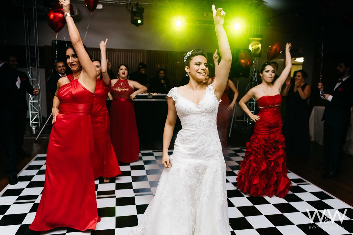 espaco escandinavo sao paulo festa vermelho noiva
