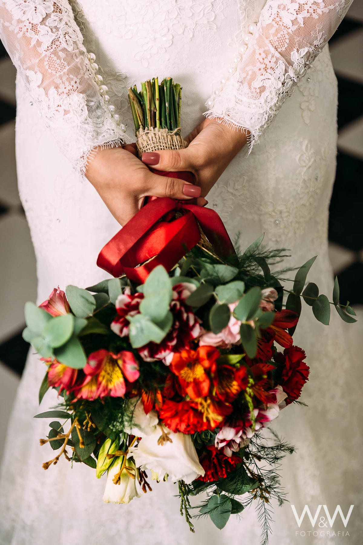 making of noiva casamento bouquet