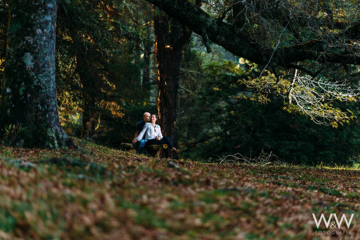 ensaio pre wedding campos do jordao sp horto florestal outono